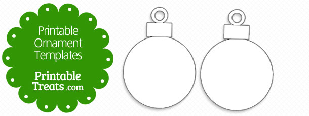 free printable ornament template