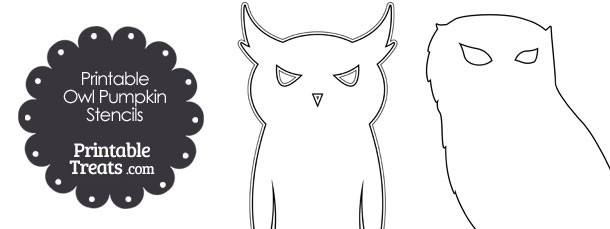 Printable owl pumpkin stencils printable treats free printable owl pumpkin stencils pronofoot35fo Choice Image
