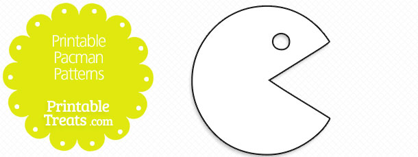graphic about Pac Man Printable identified as Printable Pacman Layouts Printable