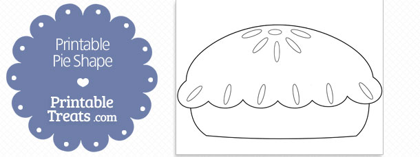 printable pie shape template printable treats com
