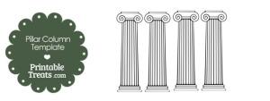 Printable Pillar Column Template