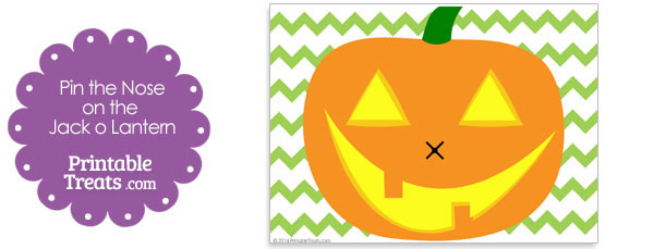 image regarding Printable Jackolantern called Printable Pin the Nose upon the Jack o Lantern Printable