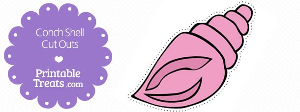 free-printable-pink-conch-shell-cut-outs