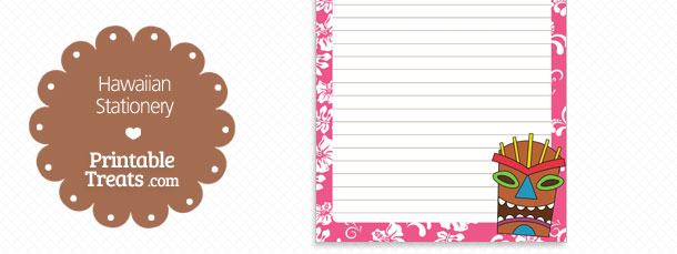 free-printable-pink-hawaiian-stationery