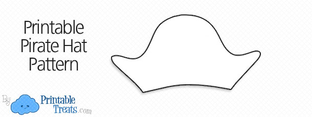 Free Printable Pirate Hat Pattern