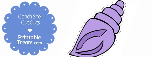 free-printable-purple-conch-shell-cut-outs