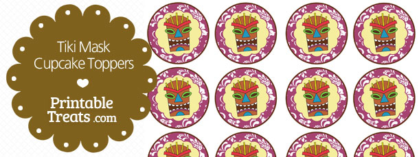free-printable-purple-tiki-mask-cupcake-toppers