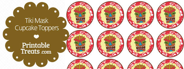 free-printable-red-tiki-mask-cupcake-toppers