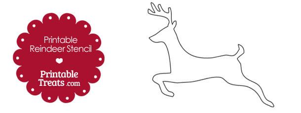 free-printable-reindeer-stencil