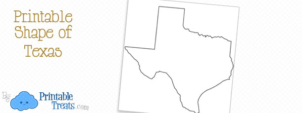 picture about Texas Outline Printable named Printable Condition of Texas Printable