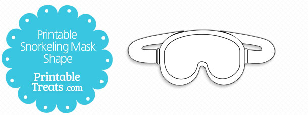 free-printable-snorkeling-mask-shape