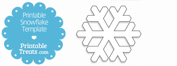 printable snowflake templates