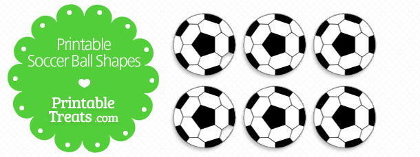 Smart image in free printable soccer ball