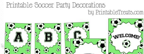 graphic regarding Free Printable Birthday Decorations called Printable Football Occasion Decorations Printable