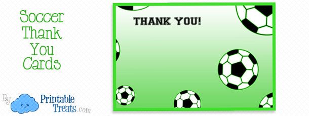 image regarding Free Printable Soccer Ball titled Printable Football Thank By yourself Notes Printable