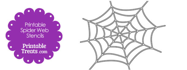 graphic about Spider Printable known as Printable Spider World wide web Stencil Printable