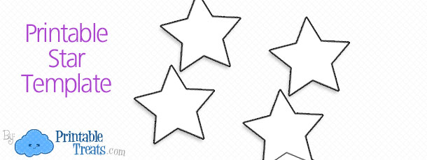 Printable Star Template