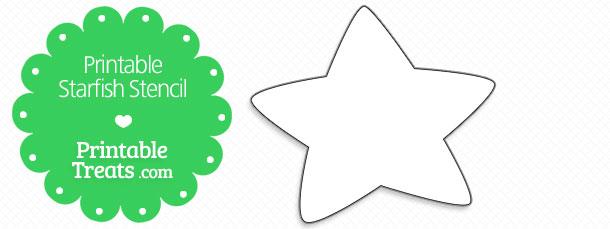 free-printable-starfish-stencil