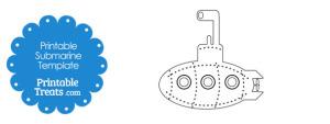 Printable Submarine Template