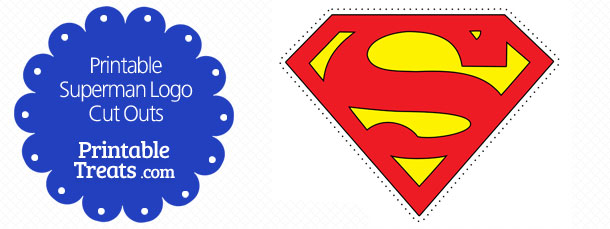 Superman Cupcake Toppers Printable Treats Com