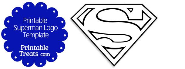 graphic regarding Free Printable Superman Logo named Printable Superman Symbol Template Printable