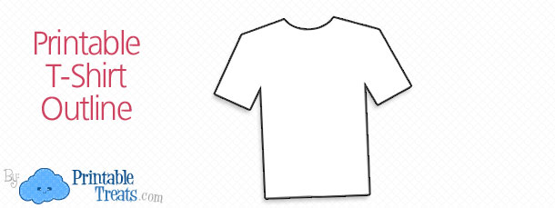printable t shirt outline printable treats com
