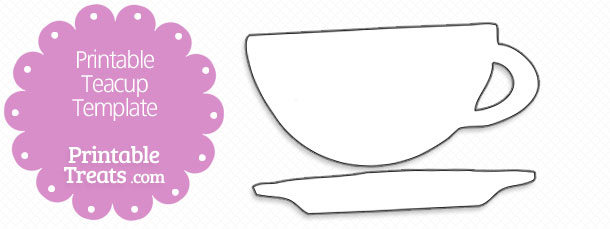 Printable Tea Kettle Template Free Teacup