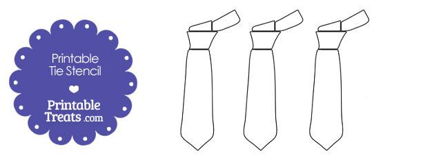Printable Tie Stencil