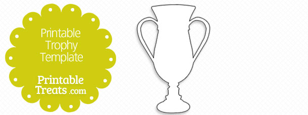picture relating to Printable Trophy identified as Printable Trophy Template Printable