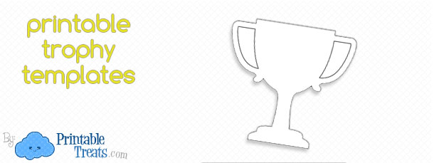 picture regarding Printable Trophy Labels named Totally free Printable Trophy Template Printable