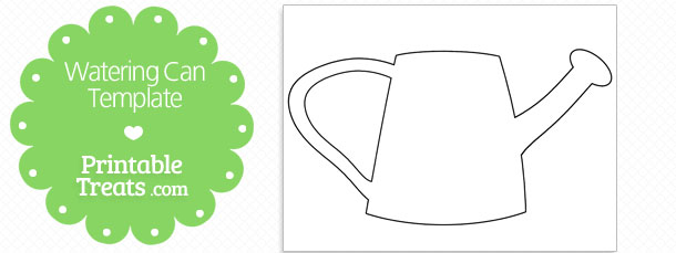 printable watering can template printable treats com