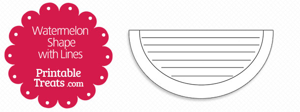 free-printable-watermelon-shape-with-lines