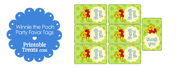 a57b6d4fd Printable Winnie the Pooh Favor Tags — Printable Treats.com