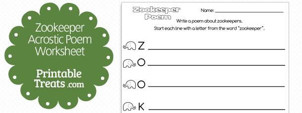 free-printable-zookeeper-job-acrostic-poem