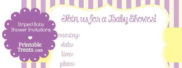 free-purple-striped-baby-shower-invitations