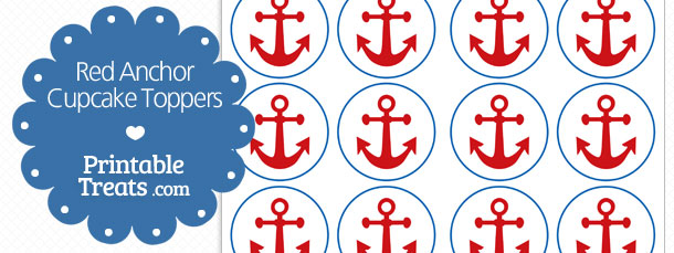 free-red-anchor-cupcake-toppers