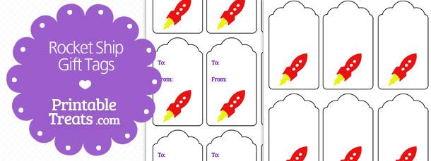 Free Printable Rocket Ship Templates