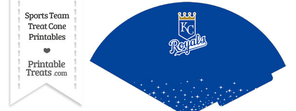 Royals Treat Cone Printable