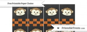 free-safety-orange-checker-pattern-chalk-style-boy-monkey-paper-chains-to-print