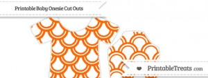 free-safety-orange-fish-scale-pattern-medium-baby-onesie-cut-outs-to-print