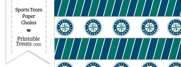 Seattle Mariners Paper Chains