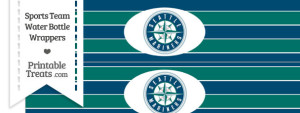 Seattle Mariners Water Bottle Wrappers