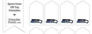 Seattle Seahawks Gift Tags