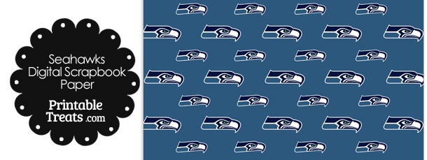 Seattle Seahawks Logo Digital Paper