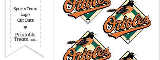 photo relating to Baltimore Orioles Printable Schedule known as Minor Baltimore Orioles Emblem Lower Outs Printable