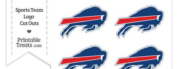 Small Buffalo Bills Logo Cut Outs