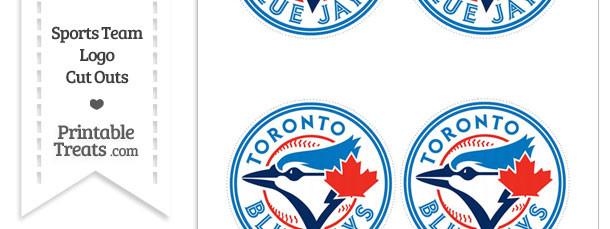 Small Toronto Blue Jays Logo Cut Outs