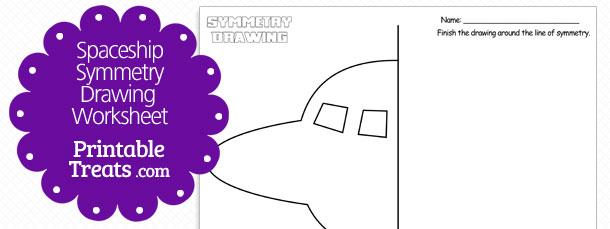free-spaceship-symmetry-drawing-worksheet