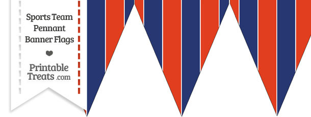 St Louis Cardinals Colors Pennant Banner Flag