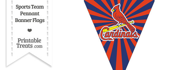 St Louis Cardinals Pennant Banner Flag